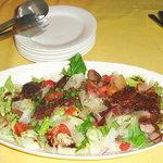 ラガッツォ - 牛ロースステーキのサラダ仕立て