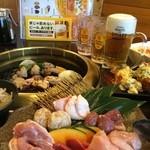 鶏とりお - 料理写真:食べ飲み放題1,600円~(税抜)