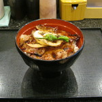 帯広ぶた丼 - 「豚丼/肩ロース/しょうゆタレ」です。