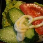 大連 - 中華定食(サラダ)