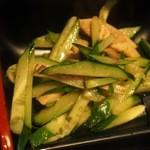 大連 - 中華定食(焼豚と胡瓜)