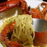 ル・コクリコ - オマール海老のクリームソーススパゲティ