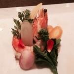 37004053 - 有機野菜のサラダ、バーニャフレッダー