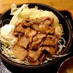 じゃむす - 豚の生姜焼き