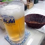 村田屋酒店 - 「生ビール」340円也。