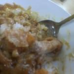 泉屋食堂 - 肉、キャベツ、福神漬、が同じ土俵に