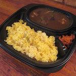 Curry庵 味蕾 - 【お持ち帰り】カレーとご飯が分かれている専用の容器をご用意しております。