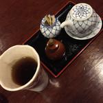 37020218 - 山椒、タレ、お茶