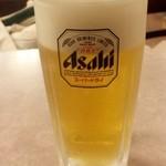 ヴィクトリア ステーション - 平成27年4月 生ビール500円(お替わりジョッキ半額セール250円)