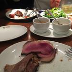 バルバッコア - バラ肉美味しかった(^O^)そして大好きなイチボちゃん♡