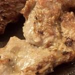 ヴィクトリア ステーション - 平成27年4月 手ごねハンバーグ&カットステーキのステーキ部分