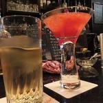 エヌエイチ アスラン  - ウイスキー+3月のイチゴのカクテル