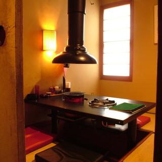 プライベートな集まりの時には個室を利用したい。