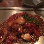京ちゃばな 北新地 ほっこりほっこり - トマトのお好み焼き