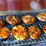 松阪 海津 - 椎茸と玉葱