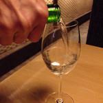 ひとはし - 米宗をワイングラスで。