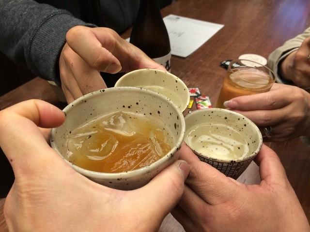 住吉酒販 博多駅店 - 乾杯!