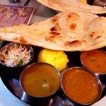 Indian Restaurant Shri Aruna - 食べ放題ランチ(1000円)
