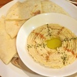 エイケイコーナー - 初めて食べる、イスラエル料理\(^o^)/       ホンモス