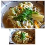 37030599 - ◆白魚の卵とじ・・少し甘めのお味付ですが、いいお味です。                       白魚だけでなく筍もタップリ入っていましたよ。