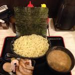 麺バカ息子 - 特製つけ麺 大盛   ゆずペーストが好きです