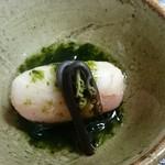 緑彩 - 甘鯛道明寺蒸し
