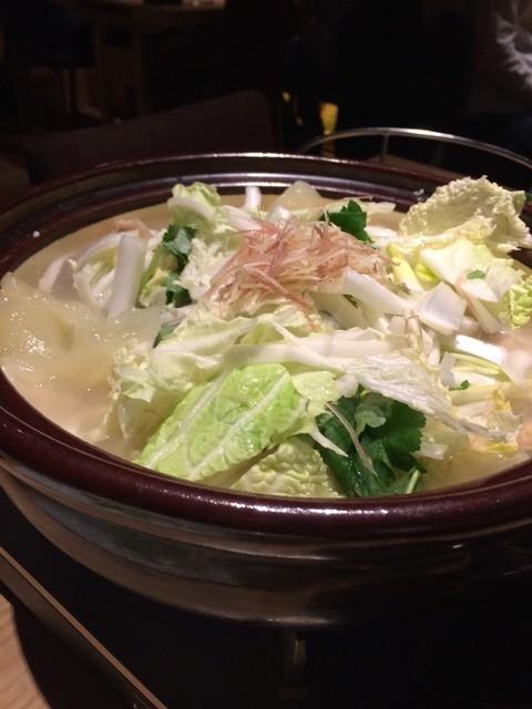 鳥良 西新宿店 - 鶏鍋です。