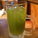 小勝 - 緑茶ハイ