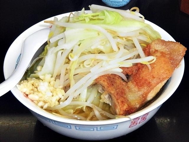 潮中華 KAZE - 鶏朗(ふつう)+野菜増し・ニンニク