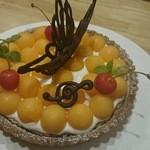 タモーチェ - 旬のフルーツのタルト(要予約)