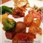 37038590 - 野菜のおかずがおいしいビュッフェ♪