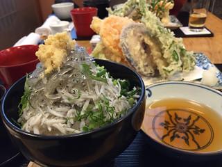 秋本 - 鎌倉づくし ミニしらす丼
