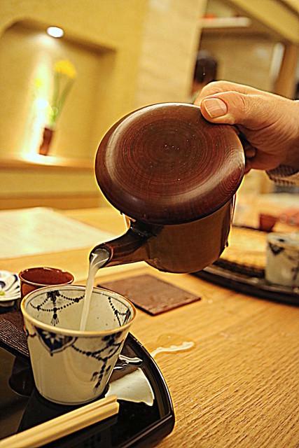 由庵 矢もり - 蕎麦湯