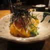 季寄武蔵屋 - 料理写真:長芋の千切りとホタテの雲丹和え