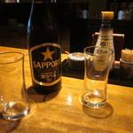 そば季寄 武蔵屋 - 瓶ビール