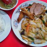 北陸飯店 - 料理写真:中華定食