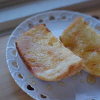 CAFA COFFEE  きの子茶屋 - 自家製天然酵母パン オレンジハニー バタートースト。 大好評!これはスイーツです! (お客様撮影)