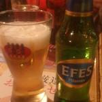 パルミラ - あちらのビール