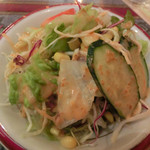 HIRA - set の サラダ。