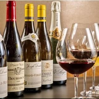 お値打ち価格グラスワイン5種セットA2950円/B4950円