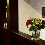 Cafe Nakamura - 随所に花が