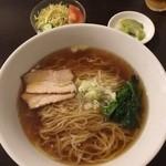 醐楊山 - ランチセット(醤油ラーメン+半チャーハン)(700円)