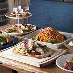ビストロ食堂BONTA W - 料理写真:シェアコース2500円