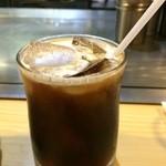 ステーキ宮川 - ドリンク写真:アイスコーヒーも付きます