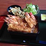 うなぎ割烹川桜 - 料理写真:上天重。