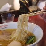 黄金の塩らぁ麺 ドゥエイタリアン - 塩玉子らぁ麺 (2015/03)