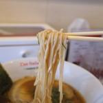 黄金の塩らぁ麺 ドゥエイタリアン - 醤油玉子らぁ麺 (2015/03)