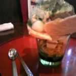 和カフェ 花かまくら - 栗とわらびもちのパフェ