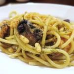 ロッツォシチリア - シチリア名物 鰯とウイキョウのスパゲティ
