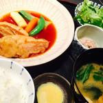 CADET 山田屋 - 至極の豚角煮定食♡ 1080円 コーヒー付き